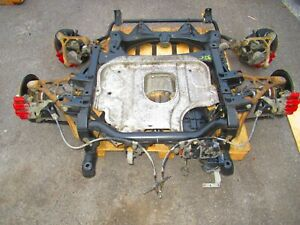 2002 Honda S2000 AP1 Front & Rear Subframes Differential, Brakes, Spindles, Axle