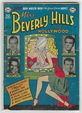MISS BEVERLY HILLS OF HOLLYWOOD #5 GOLDEN AGE DC COMIC BOOK Bob Hope CIRCA 1949