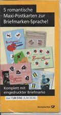 Ungeprüfte postfrische Briefmarken-Ganzsachen aus der BRD