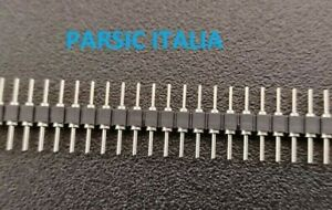 CONNETTORE STRIP TORNITO M/M 60pin P=2,54mm , ALTEZZA PIN 5mm  (QTY : 2 PEZZI)