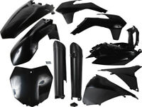 ACERBIS FULL PLASTIC KIT (BLACK) Fits: KTM 250 SX,250 SX-F,250 XC,300 2314330001
