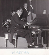 Duke Ellington concert Salle Pleyel Paris Original Vintage 1958