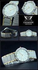 Luxury Watch Chevalier Cavadini Designer Watch Stainless Steel Bi-Colour