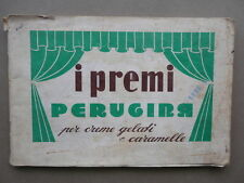 I Premi Perugina Per Creme Gelati Caramelle Dolci Catalogo 1954 Perugia Italia