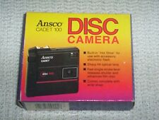 NEW VINTAGE Ansco Cadet 100 Disc Camera with Box and Instructions