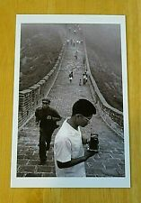 MAGNUM PHOTO POSTCARD ~ THE GREAT WALL OF CHINA, HEBEI PROVENCE, CHINA ~ 1971