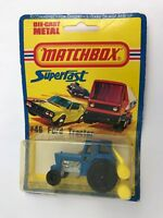 Matchbox - SuperFast: Ford Tractor   #46 - Vintage 1978