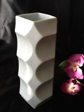 HUTSCHENREUTHER HEINRICH FUCHS VASE 5095/20 Bisquit Porzellan weiß 20 cm