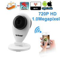 Sricam 720P IP Camera Wireless H.264 Wifi Megapixel CCTV Security US PLUG