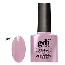 UK SELLER Gdi Nails NUDE Color U02 TUTTI UV/LED Soak Off