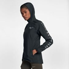 Women's Nike Nsw Zonal Shield  Hooded Running Jacket Coat Size Medium M