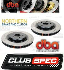 DBA 4000 SERIES T3 SLOTTED REAR ROTORS HSV VE VE2 LS2 LS3 CLUBSPORT inc R8 350mm