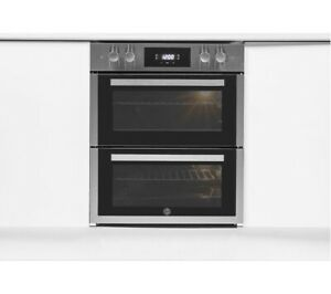 HOOVER H-OVEN 300 HO7DC3E3078IN Electric Built-under Double Oven Stainless Steel