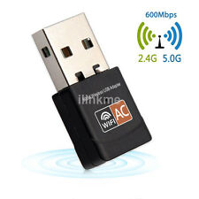 RTL8811AU Chipset 600Mbps 2.4GHz/5GHz 802.11ac WiFi USB Adapter Dongle UK