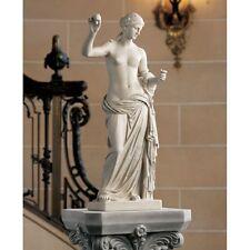 Greek Roman Nude Female Woman Statue Garden Sculpture Entryway Decor NEW