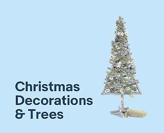 Christmas Decorations & Trees