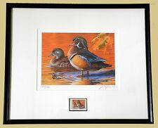 2007 FRAMED MD STATE WATERFOWL PRINT - PRICED TO SELL!!!   (ESP -JR34)
