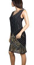 Lush Bird 1920's Gatsby fully embellished shift dress from size: 8 to PLUS SIZES