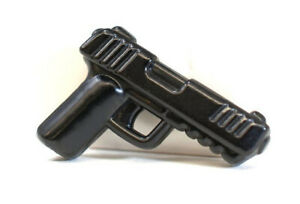 Brickarms UCS PISTOL compatible with Lego Minifigures -NEW- Black