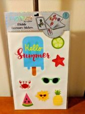 POP SHOP Mobile Accessory Stickers Large For Computer Phone Tablets Hello Summer