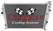 3 Row SZ Champion Radiator for 1998 - 1999 Chevy Camaro V8 Engine