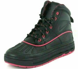 Nike ACG Woodside 2 High GS 524876 001 Women Winter Boots Waterproof Black Pink
