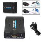 1080P da HDMI a SCART COMPOSITO Convertitore video adattatore audio adatto a DVD
