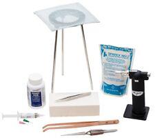 Basic Soldering Kit Jewelry Making Metal Solder Repair Tool Set 9-Piece Eurotool