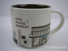 """STARBUCKS PIKE PLACE Coffee Mug """"You Are There Collection"""" 2013"""