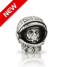 Nickel Silver Paracord Beads GAGARIN 1st Man in Space USSR Soviet Knife Lanyard