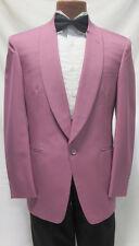 42L Vintage Retro 80s Flamingo Pink Miami Vice Uptown Funk Prom Party Costume