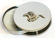Horse Racing Magnifying Reading Glass Desktop Office Lucky Jockey Gift