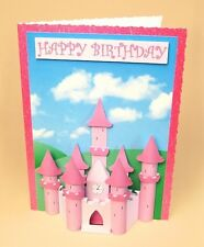 A4 Card Making Templates for 3D Princess Castle Embellishment by Card Carousel