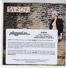 (CZ513) Syron, Breaking - 2012 DJ CD