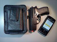 Concealment CCW Holster, Concealed Pocket Pistol Sig Sauer P238 .380 - BLACK
