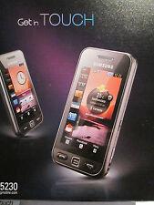 Samsung GT S 5230 OVP Simfrei Zubehör Paket Handbuch super o.k gebr. Art.506/2
