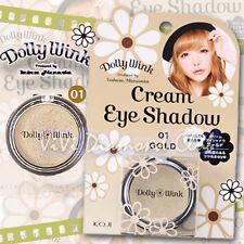 KOJI Dolly Wink Tsubasa Masuwaka Cream Eye Shadow 01 GOLD NEW Version