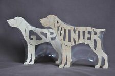 German Short Hair Pointer Dog Wood Toy Puzzle Amish