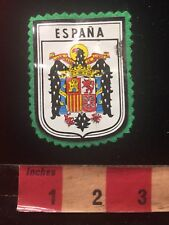 Vtg Low Quality Printed Front / Felt Back ESPAÑA Spain Patch 81V7