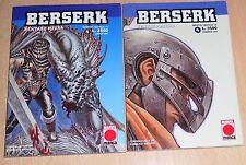 ED.MARVEL  SERIE   BERSERK    N°  4  1997  ORIGINALE !!!  MAI LETTO