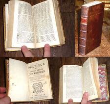 pratique de l'éducation des princes Guillaume de Croÿ Ch. Quint 1684 Varillas