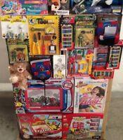 Lot revendeur palette solderie de 18 jouets idéal revendeur