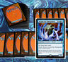 mtg BLUE DECK Magic the Gathering rares 60 cards arcanis freed from the real