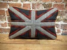 "Harris Tweed Union Jack Cushion 20"" X 14""🇬🇧"
