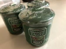 Yankee Candle 1.75 oz Votives BALSAM & CEDAR x (3) Brand New