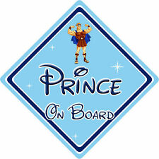 Disney Prince On Board Car Sign - Baby On Board - Hercules