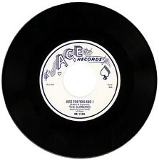 """SUPREMES Featuring HUEY SMITH  """"JUST FOR YOU AND I""""  DOO WOP / R&B MOVER LISTEN!"""
