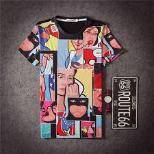 Comic book Marvel DC T-Shirt [batman wonder woman graffiti funny ironic hipster]