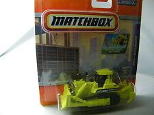 Matchbox Real Working Rig RW009/2: MBX Bulldozer neon gelb OVP