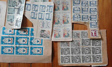 Sweden / Schweden Lot Kiloware Konvolut Blocks